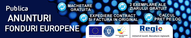 Anunturi fonduri europene ziare nationale si ziare locale